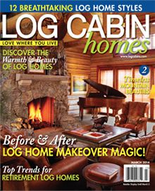 Log Cabin Homes, March 2013
