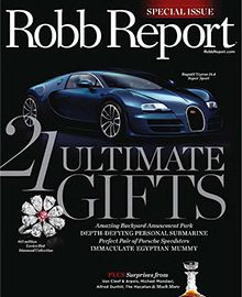 Robb Report, Nov/Dec 2010