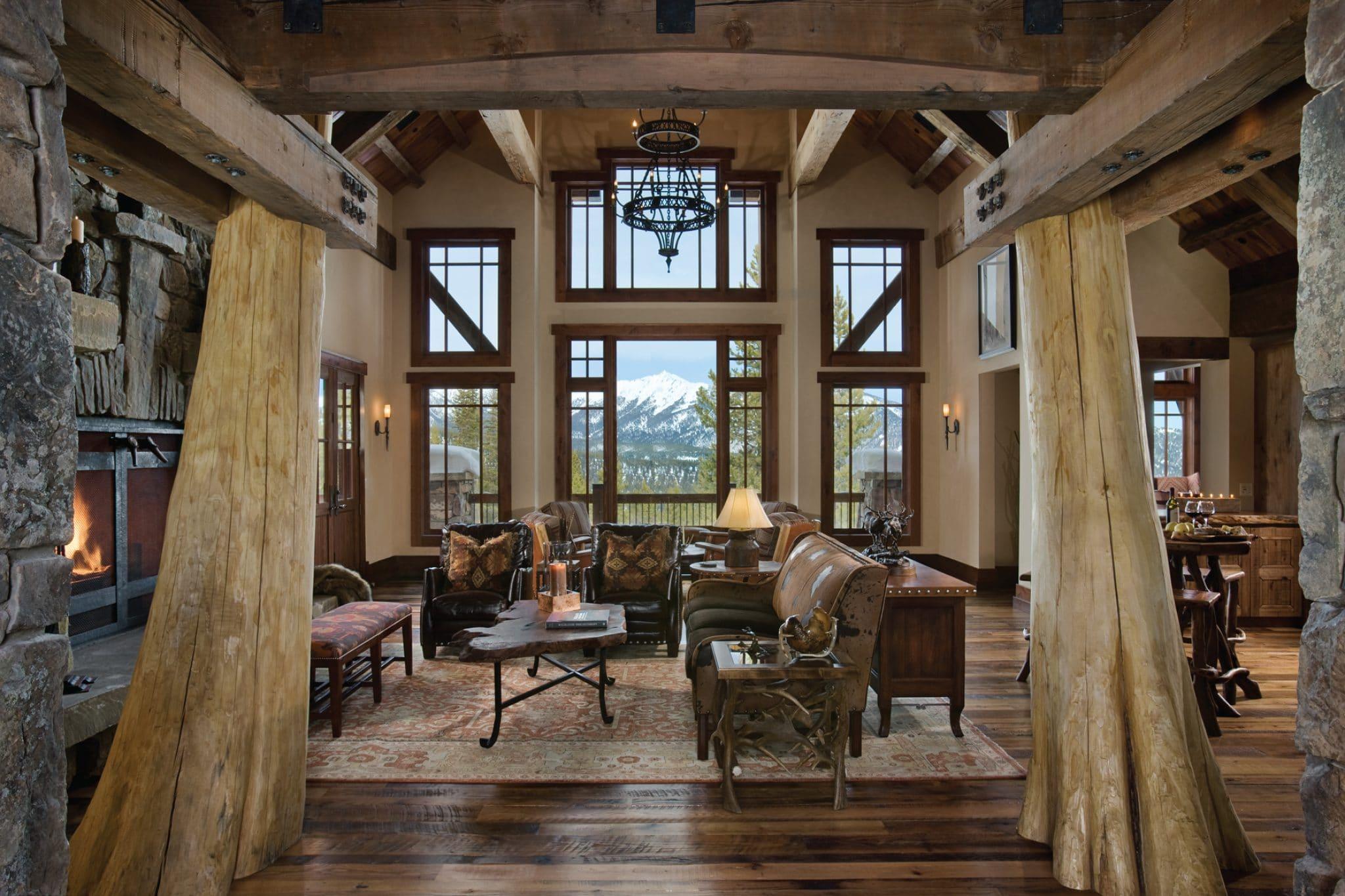 Elk ridge lodge centre sky architecture for Mountain lodge architecture