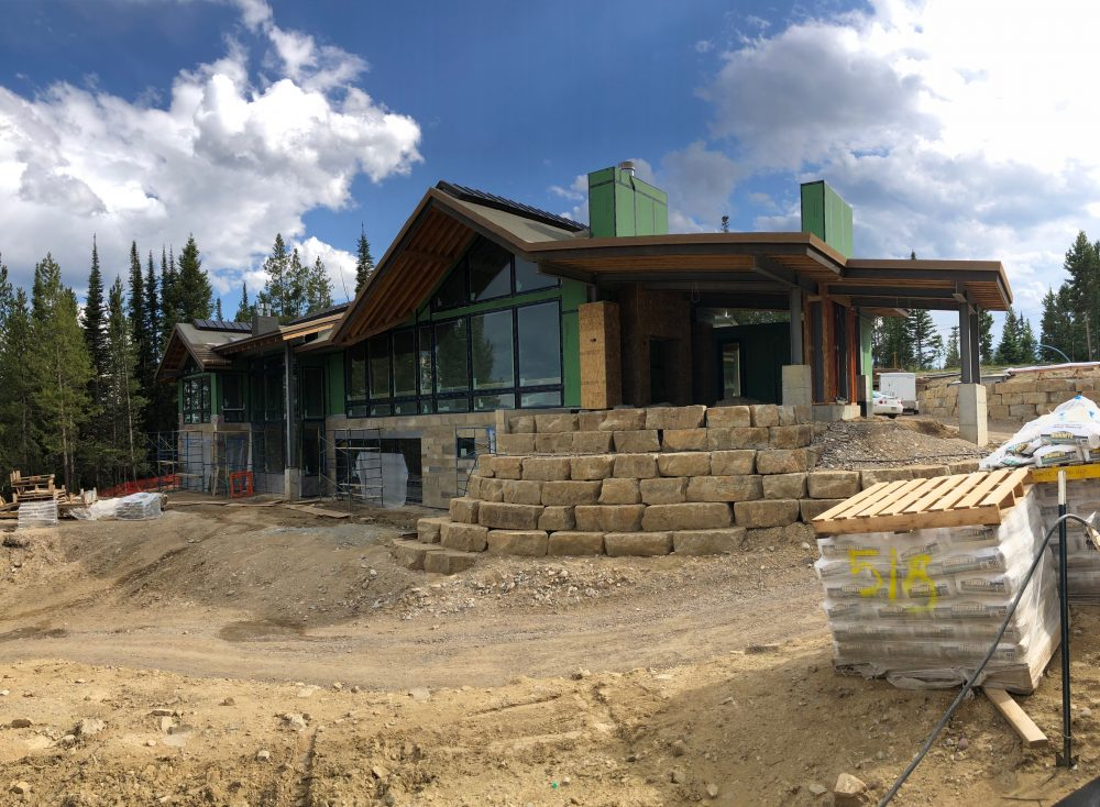 Rear view of Elk Ridge 60